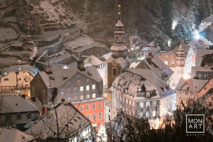 Monschau im Winter